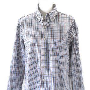 Club Room Men's Checkered Dress Shirt